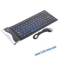 Buy cheap 84 Key Waterproof Washable USB Flexible Silicone Keyboard from wholesalers