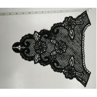 Buy cheap Black Crochet Lace Collar With Beautiful Design , Eco Friendly from wholesalers