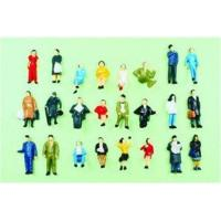 Buy cheap P87-24 1:87 HO Architectural Scale Model People Painted Figures 2.0cm from wholesalers