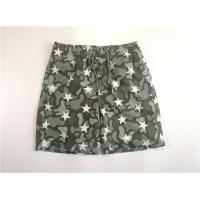 Buy cheap Camostar  Boy's Woven Beach Shorts Fake Fly Side Pocket Adjustable Drawstring from wholesalers