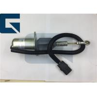 Buy cheap Cummins Engine Stop Solenoid Switch 12V 3932545 for Excavator Parts product
