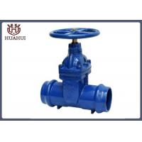 Pvc Pipe Socket Gate Valve , Blue Color Metal Seated Gate Valve For Water Industry
