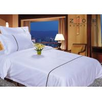 Buy cheap Double Size And 120GSM 250TC With Cotton Hotel Style Bedding Sets For 4 Star product