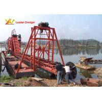 Buy cheap Customized Design Bucket Dredger 12000L Fuel Tank Capacity 730mm Center Distance from wholesalers