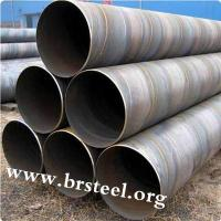 Buy cheap construction materials API 5L High strength spiral welded steel pipe from wholesalers