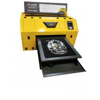Buy cheap Large industrial A2  Size Epson print head digital t shirt flatbed dtg printer from wholesalers