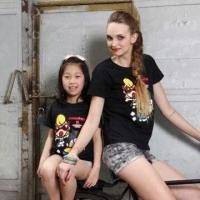 Buy cheap Women's T-shirts, Made of 100% Cotton, with Prints, Various Sizes are Available from wholesalers