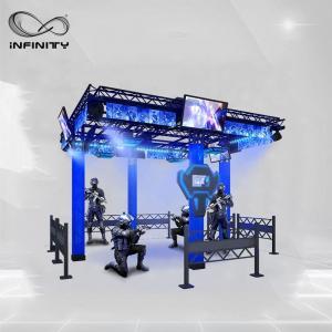 Buy cheap 9D Multiplayer Virtual Reality Walking Platform / VR Walking Simulator product