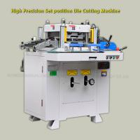 Buy cheap Film / PE / PVC / Barcode / Roll Label Die Cutting Machine With High Precision Hole Location from wholesalers