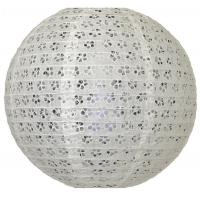 "Buy cheap 12"" Round Eyelet Paper Lantern product"
