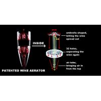 Buy cheap GLOBAL EXCLUSIVE PATENT Wine Aerator,Adjustable Decanter,Wine Accessories 6 SPEED LFK-022A from wholesalers