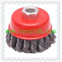 Buy cheap Twist Knotted Screw & Bowl Wire Wheel Brushes TRT08 from wholesalers