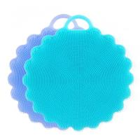 Buy cheap Silicone Dish Sponges Scratch Free Silicone Scrubber Multi-purpose Cleaning Sponges from wholesalers