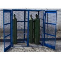 Buy cheap Propane Bottle Storage Cage , Refrigerant Storage Cage Single / Double Doors from wholesalers