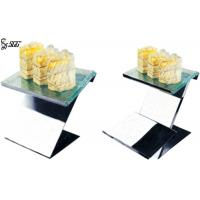 Buy cheap Matte Hammered Surface Modern Wedding Cake Tier Stands , Tiered Buffet Stand from wholesalers