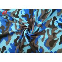Buy cheap Disruptive Pattern Printed Polyester Spandex Fabric For Bags / Jacket / Shoes from wholesalers