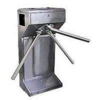 Buy cheap TCP / IP Waist High Semi Automatic electronic tripod turnstile gate for entry access contr product