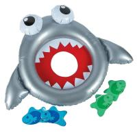 Buy cheap Summer Pool Swimming Party Inflatable Shark Bean Bag Toss Game 37 x 26 from wholesalers