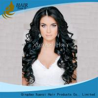 Buy cheap No Shedding Natural Looking Wigs Body Wave , Synthetic Lace Front Wigs No Damage from wholesalers