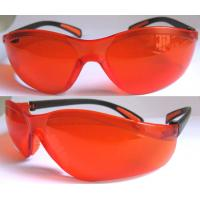 Buy cheap Red 200-540nm YAG Laser protective Safety Glasses with High Polymer & Laser absorber from wholesalers