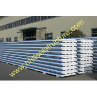 China Cold Room Corrugated EPS Sandwich Metal Roofing Sheets Wall Panels on sale