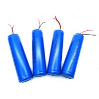 Buy cheap PCB Wires Rechargeable Li Ion Battery Pack INR18650 3.7V 3000mAh With UL KC CB PSE from wholesalers