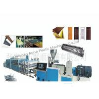 Buy cheap PVC Profile Extruder Line , PVC Profile Extruder Machine from wholesalers