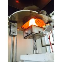 Buy cheap Flame Resistance Fire Testing Equipment Laser System Support ISO5660 Standard from wholesalers