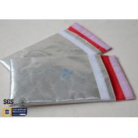 Buy cheap Fireproof Bag Document Cash Envelope 1022℉ Silver Non Itchy Fiberglass Cloth from wholesalers