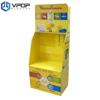 Buy cheap Recycable Cardboard Dump Bins , Eco - Friendly Corrugated Floor Displays With Hook from wholesalers