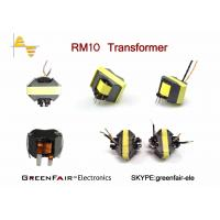 China CE RM10 Electrical Power Supply Transformer Wire 0.6 * 4.2mm DCR 6.5mΩ MAX on sale