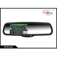 Buy cheap Wireless 4.3 Inch TFT LCD Rear View Mirror Navigation System Backup Camera product