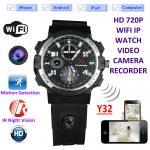 Buy cheap Y32 32GB 720P WIFI IP Spy Watch Camera Wireless Remote CCTV Video Monitor IR from wholesalers
