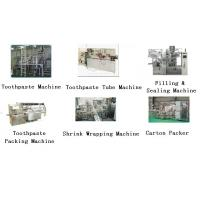 Buy cheap Toothpaste machine,  Laminated toothpaste tube machine, toothpaste filling machine, from wholesalers