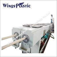 Buy cheap PVC Conduit Pipe Making Machine 16-40mm , Electrical Conduit System PVC Duct Extrusion Line from wholesalers