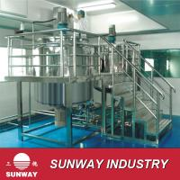 Buy cheap Sunwy shampoo shoes oil  toothpaste gel making machine  1000L from wholesalers