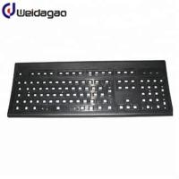 Buy cheap ABS Plastic Injection Mold Tooling Computer Keyboard Shell Texturing Treatment from wholesalers