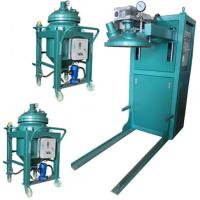 Buy cheap Thin film degassing vacuum mixing and injection device Epoxy Resin Automatic Pressure Gel Hydraulic APG Clamping Machine product
