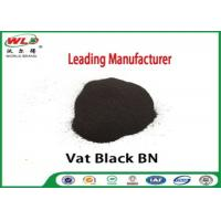Buy cheap Permanent Vat Dyes Black Bn Wool Fabric Dye Synthetic Organic Dyestuffs from wholesalers