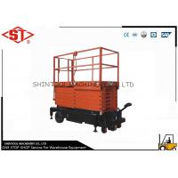 Buy cheap Electric Scissor Lifts with Hydraulic Station Mobile Elevated Work Platforms from wholesalers