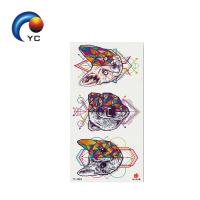 Buy cheap Water Proof Temporary Tattoo Stickers Cartoon Colorful Ink Animals Eco-friendly Tattoo Sticker for Party Supply from wholesalers