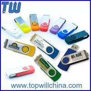 Promotion Twister Pen Drive 1GB 2GB 4GB 8GB 16GB 32GB Capacity