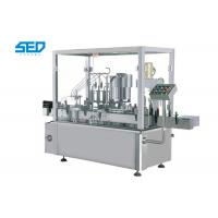 Buy cheap 5 - 20ml Oral Liquid Filling Machine Pharma Industry Use With 4 Filling Nozzles from wholesalers