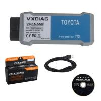 Quality china OEM WIFI VXDIAG VCX NANO OBD2 interface for Toyota for sale