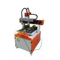 Buy cheap New arrival small 4 axis CNC Router machine with double head double rotary axis from wholesalers