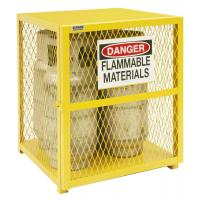 Buy cheap High Durability Gas Bottle Storage Cage Compliant With OSHA / NFPA Standard from wholesalers