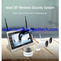 Buy cheap 4CH 960P Wifi IP Cameras, Wifi NVR Kit, Wireless NVR with 11 HD LCD Display Screen from wholesalers