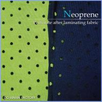 Buy cheap Soft, Solid and Elastic Neoprene Perforated Sheet with fabric, available in various color from wholesalers