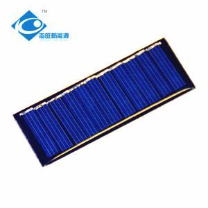 Buy cheap 0.22W 5.5V EMC Approval Mini Solar Panels For DIY Educational Toys / Mobile Power Pack product