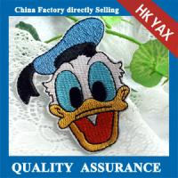 Buy cheap W0518 Donald Duck iron on embroidery patch,embroidery patch iron on,china wholesale iron embroidery patch from wholesalers